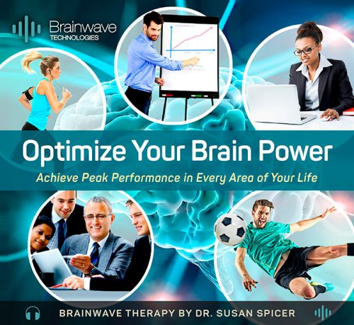Optimize Your Brain Power CD and MP3 Audio