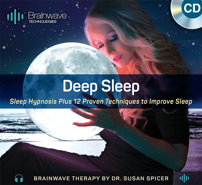 Deep Sleep CD – Brainwave Therapy by Dr. Susan Spicer