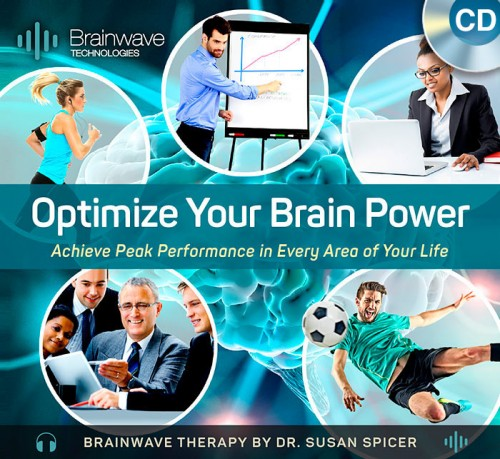 Optimize Your Brain Power CD – Brainwave Therapy by Dr. Susan Spicer