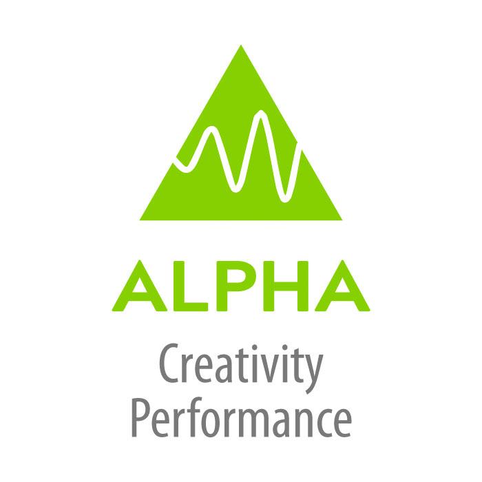 Alpha Brainwave Icon
