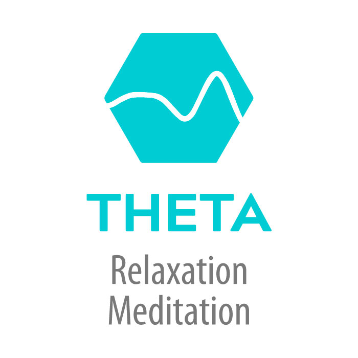 Theta Brainwave Icon
