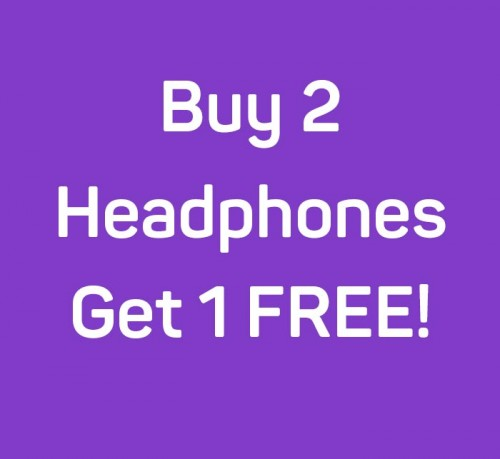 Buy 2 Headphones get One Free offer from Brainwave Technologies