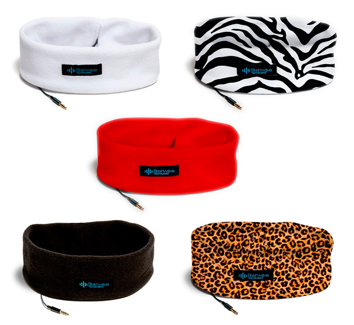 Photo of Five styles of Sleep Headphones for comfortably listening to MP3 audio programs