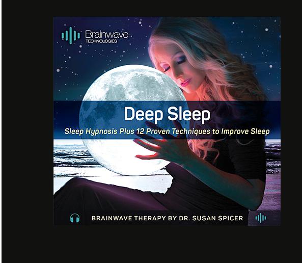 Deep Sleep brainwave therapy program created by Dr. Susan Spicer, founder of Brainwave Technologies