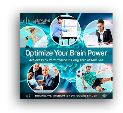 Optimize Your Brain Power brainwave therapy program created by Dr. Susan Spicer, founder of Brainwave Technologies